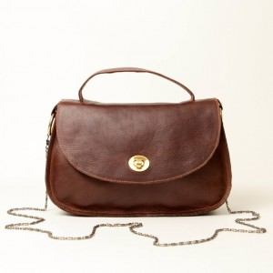Classic Leather Top Handle & Shoulder Bag – Lorla Brown