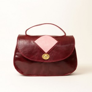 Classic Leather Top Handle & Shoulder Bag – Lorla Claret
