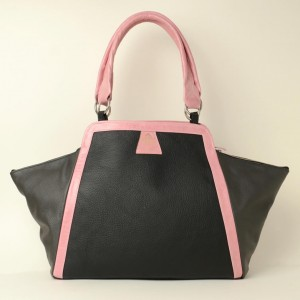 Luxury Leather Tote – Carole Black
