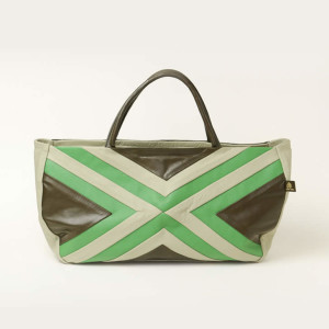Soft Leather Tote Bag – Busu Green