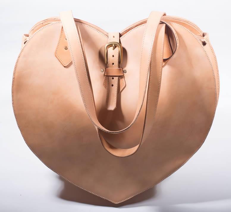 supreme leather weekender and tote bag - jenny - shoulder straps