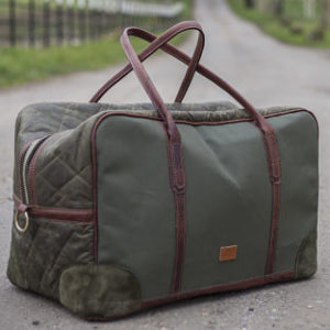Extra large holdall/ weekender (canvas and lining by Land Rover)